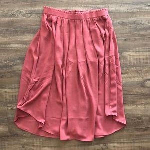 Loft Mauve Skirt - XS